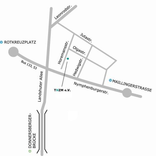 Anfahrtsplan – Trauma Hilfe Zentrum München